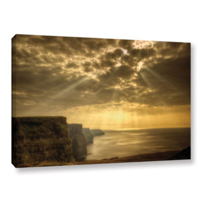 Brushstone Heavenly Gallery Wrapped Canvas