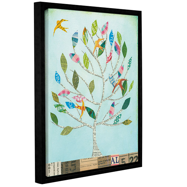 Brushstone The Seasons I Gallery Wrapped Floater-Framed Canvas Wall Art