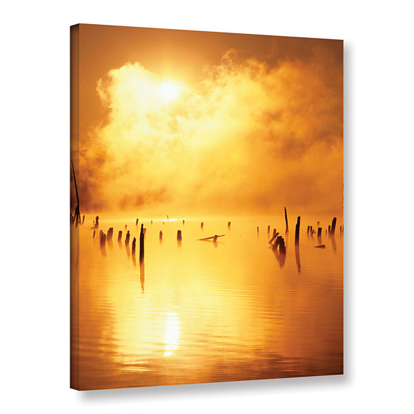Brushstone Mistified Gallery Wrapped Canvas Wall Art