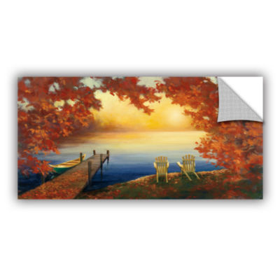 Brushstone Autumn Glow Crop v2 Removable Wall Decal