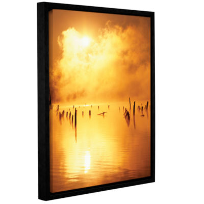 Brushstone Mistified Gallery Wrapped Floater-Framed Canvas