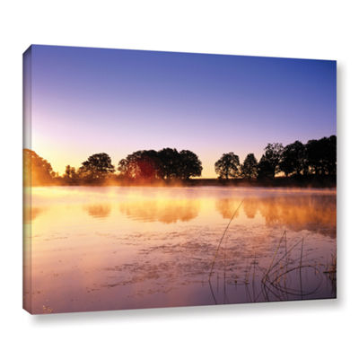 Brushstone Morning Gallery Wrapped Canvas
