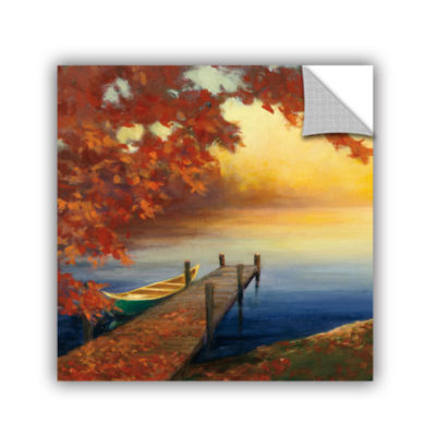 Brushstone Autumn Glow III Removable Wall Decal