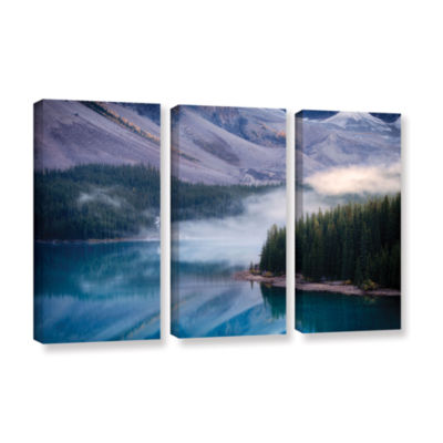 Brushstone Mountain Mist 3-pc. Gallery Wrapped Canvas Set