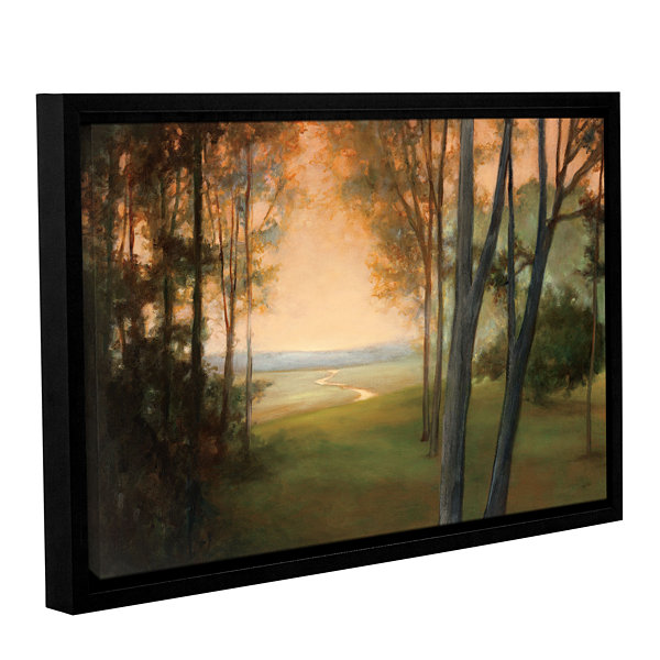 Brushstone Between The Worlds Gallery Wrapped Floater-Framed Canvas Wall Art