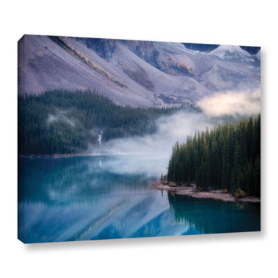 Brushstone Mountain Mist Gallery Wrapped Canvas
