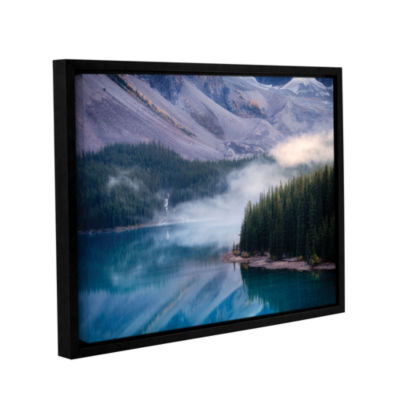 Brushstone Mountain Mist Gallery Wrapped Floater-Framed Canvas