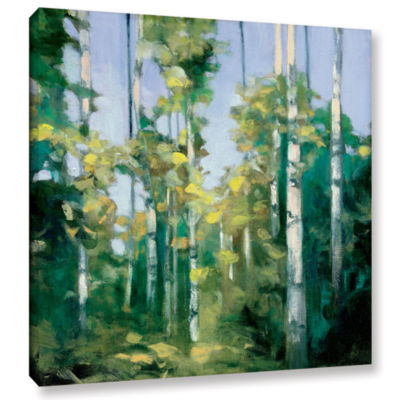 Brushstone Birches Gallery Wrapped Canvas Wall Art