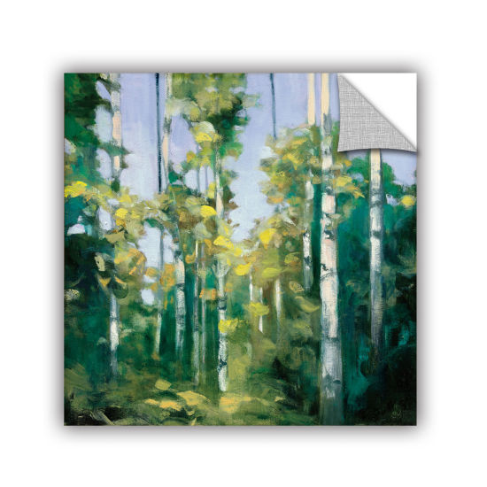 Brushstone Birches Removable Wall Decal
