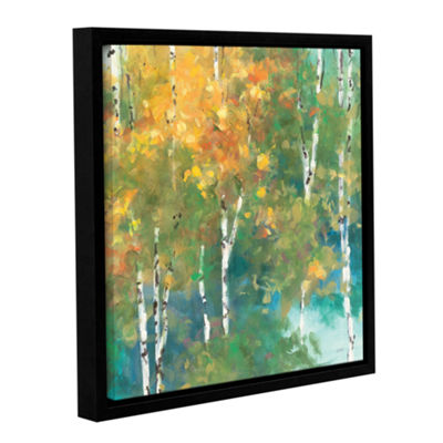 Brushstone Confetti I Gallery Wrapped Floater-Framed Canvas Wall Art