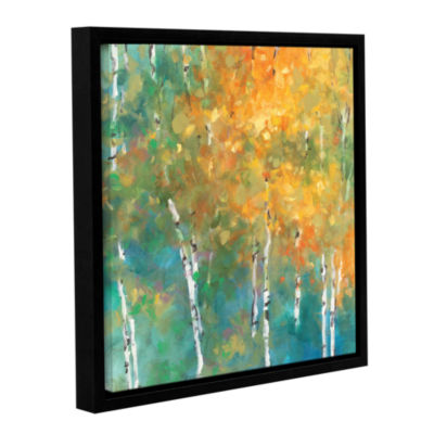 Brushstone Confetti II Gallery Wrapped Floater-Framed Canvas Wall Art