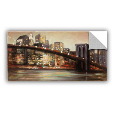 Brushstone NYC After Hours Removable Wall Decal