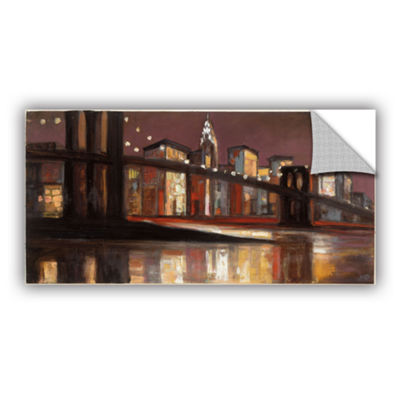 Brushstone NYC Nighttime Removable Wall Decal