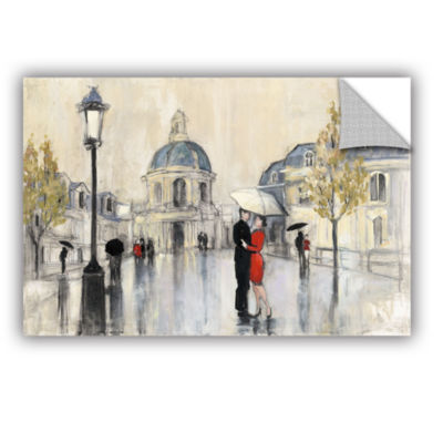 Brushstone Spring Rain Paris Removable Wall Decal