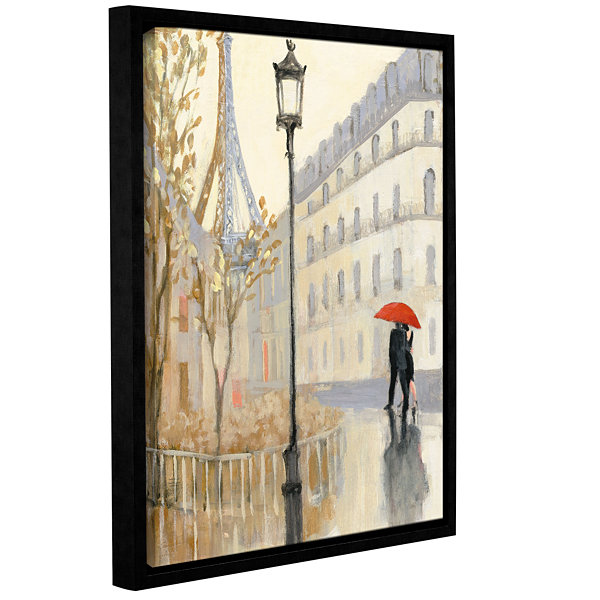 Brushstone To The Metro II Gallery Wrapped Floater-Framed Canvas Wall Art