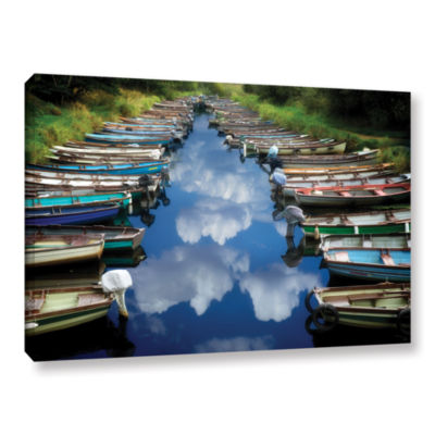Brushstone What Ever Floats Your Boat Gallery Wrapped Canvas