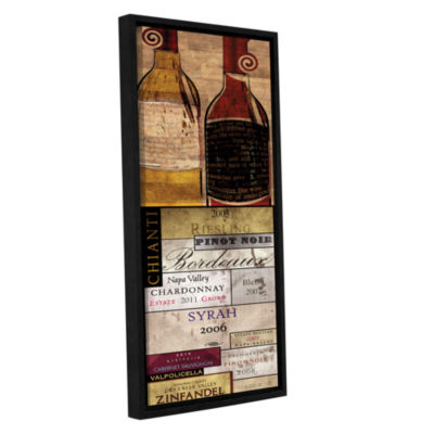 Brushstone A Good Year Gallery Wrapped Floater-Framed Canvas