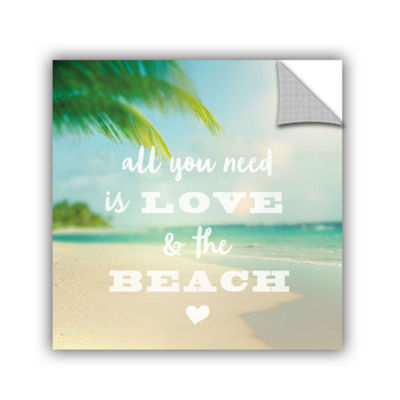 Brushstone All you need is Beach Removable Wall Decal