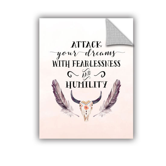 Brushstone Attack Your Dreams Removable Wall Decal