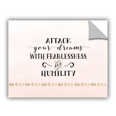 Brushstone Attack Your Dreams Version 2 RemovableWall Decal
