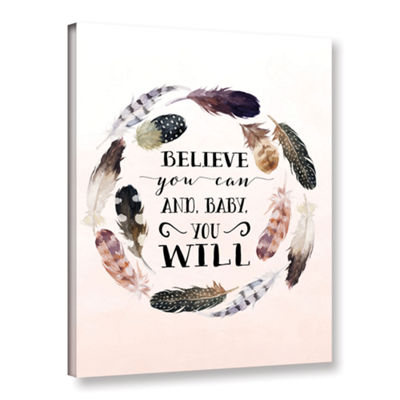 Brushstone Baby You Will Gallery Wrapped Canvas