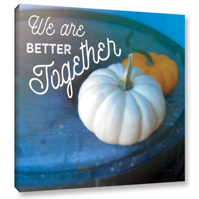 Brushstone Better TogeTher Gallery Wrapped CanvasWall Art