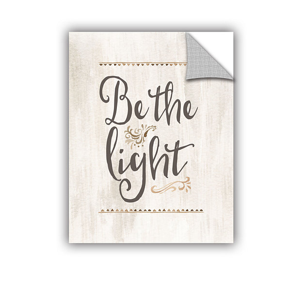 Brushstone Be The Light Removable Wall Decal
