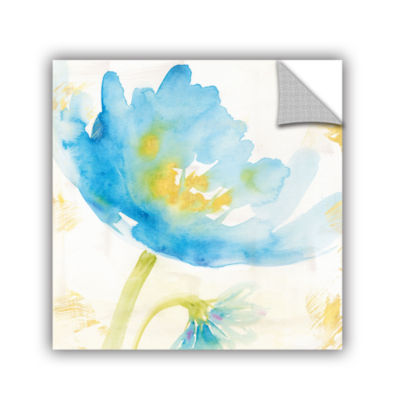 Brushstone Breeze Bloom II Removable Wall Decal