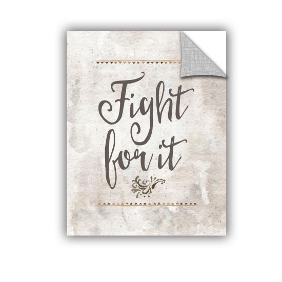 Brushstone Fight for It Removable Wall Decal