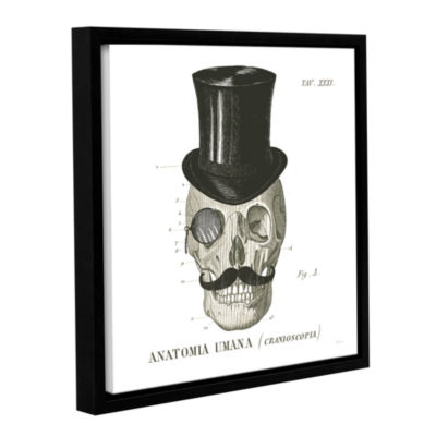 Brushstone Dandy Bones I Gallery Wrapped Floater-Framed Canvas Wall Art