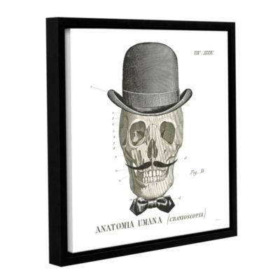 Brushstone Dandy Bones IV Gallery Wrapped Floater-Framed Canvas Wall Art