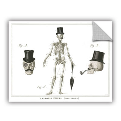 Brushstone Dandy Bones Removable Wall Decal