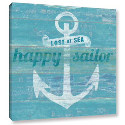 Brushstone Drifted Anchor Gallery Wrapped Canvas Wall Art