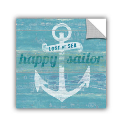 Brushstone Drifted Anchor Removable Wall Decal