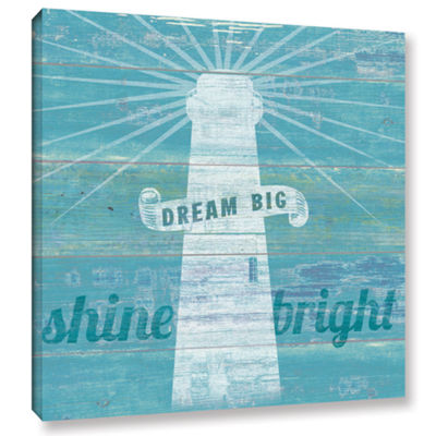 Brushstone Drifted Lighthouse Gallery Wrapped Canvas Wall Art