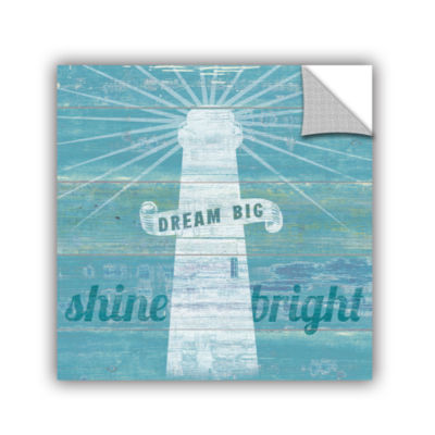 Brushstone Drifted Lighthouse Removable Wall Decal