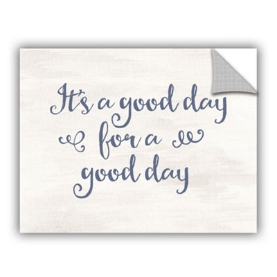 Brushstone It's a good day Gray Blue Removable Wall Decal