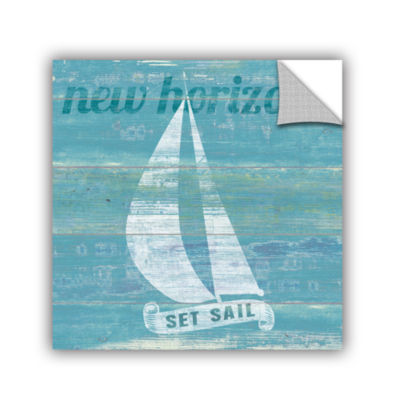 Brushstone Drifted Sailboat Removable Wall Decal
