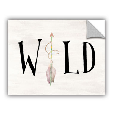 Brushstone Wild Watercolor Arrow Removable Wall Decal