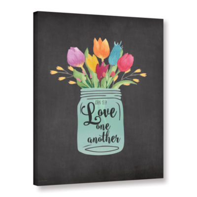 Brushstone Love Another Gallery Wrapped Canvas Wall Art