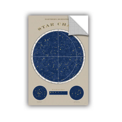Brushstone NorThern Star Chart Removable Wall Decal