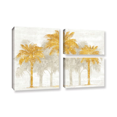 Brushstone Palm Coast I 3-pc. Flag Gallery WrappedCanvas Wall Art