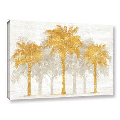 Brushstone Palm Coast I Gallery Wrapped Canvas Wall Art
