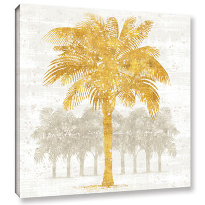 Brushstone Palm Coast II Gallery Wrapped Canvas Wall Art