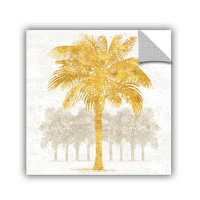 Brushstone Palm Coast II Removable Wall Decal