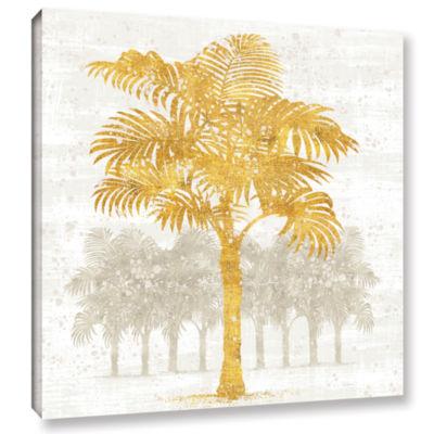 Brushstone Palm Coast III Gallery Wrapped Canvas Wall Art