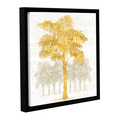 Brushstone Palm Coast III Gallery Wrapped Floater-Framed Canvas Wall Art