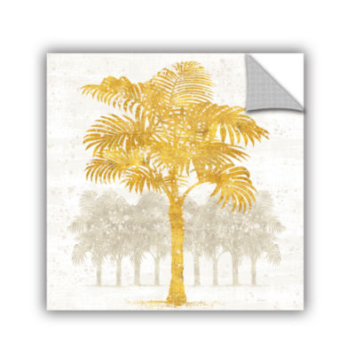 Brushstone Palm Coast III Removable Wall Decal