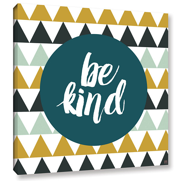 Brushstone Be Kind Gallery Wrapped Canvas