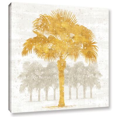 Brushstone Palm Coast V Gallery Wrapped Canvas Wall Art